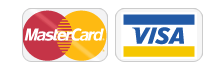 We accept MasterCard / VISA