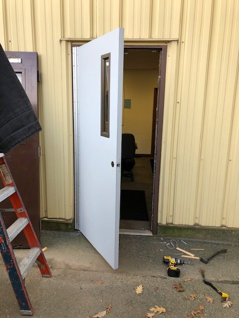 commercial steel door